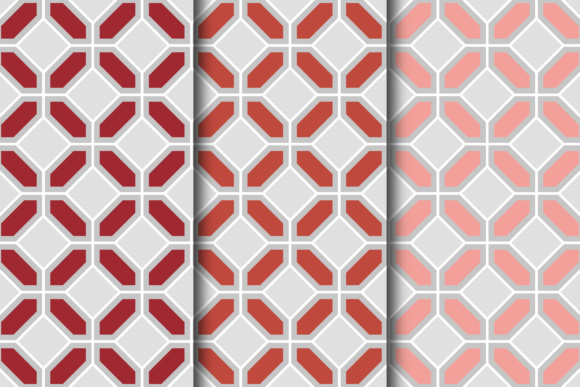 Download Free Retro Trellis Digital Paper Collection Graphic By Frazella for Cricut Explore, Silhouette and other cutting machines.
