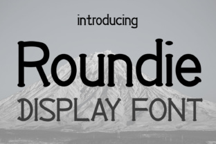 Roundie Font By Emily Penley Fonts