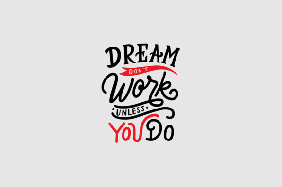 Download Free Hand Lettering Quotes About Success Graphic By Weape Design for Cricut Explore, Silhouette and other cutting machines.