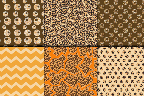 Safari Kraft Digital Paper Pack, Safari Background Graphic Backgrounds By vivastarkids - Image 3