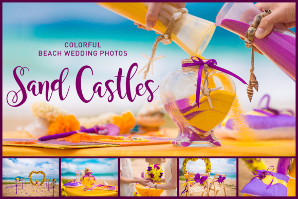 Sand Castles. Wedding Bundle