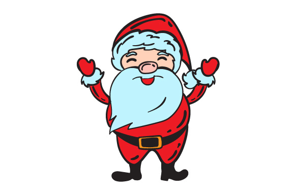 Download Free Santa With Hat Beard Svg Cut File By Creative Fabrica Crafts for Cricut Explore, Silhouette and other cutting machines.