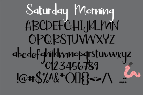 Print on Demand: Saturday Duo Script & Handwritten Font By Illustration Ink - Image 2