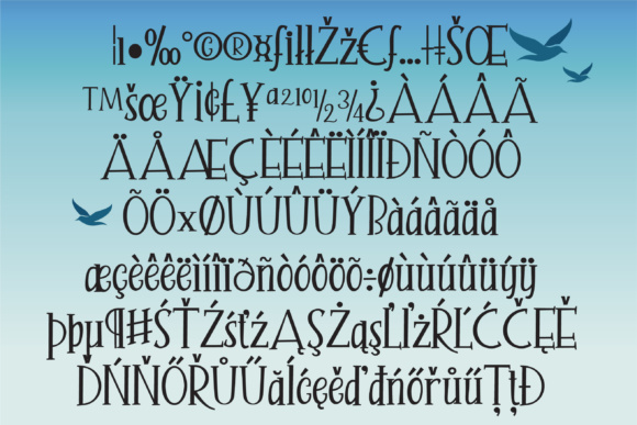 Print on Demand: Seagully Serif Font By Illustration Ink - Image 4