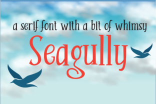Print on Demand: Seagully Serif Font By Illustration Ink