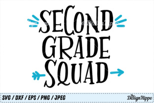 Second Grade Squad Graphic Crafts By thedesignhippo