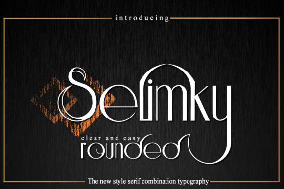 Print on Demand: Selimky Sans Serif Font By jehansyah251