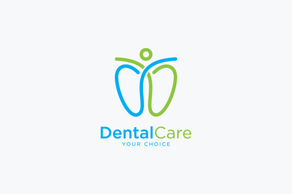 Download Free Simple And Creative Dental Logo Graphic By Bprojectcontributor for Cricut Explore, Silhouette and other cutting machines.
