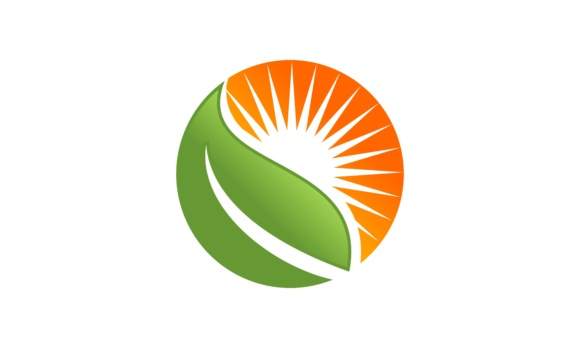Solar Energy Panel Logo Vector Graphic By 2qnah