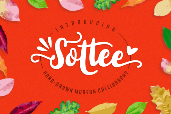 Print on Demand: Sottee Script & Handwritten Font By Rifki (7ntypes)