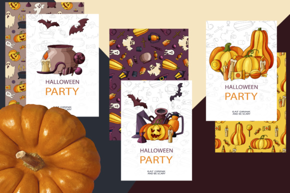 Spooky Halloween Clipart Graphic Illustrations By tregubova.jul - Image 4