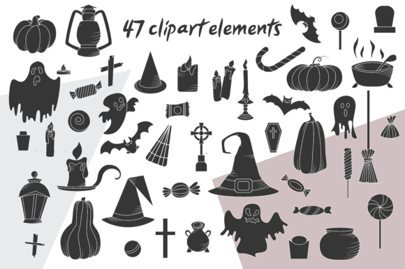 Spooky Halloween Clipart Graphic Illustrations By tregubova.jul - Image 6