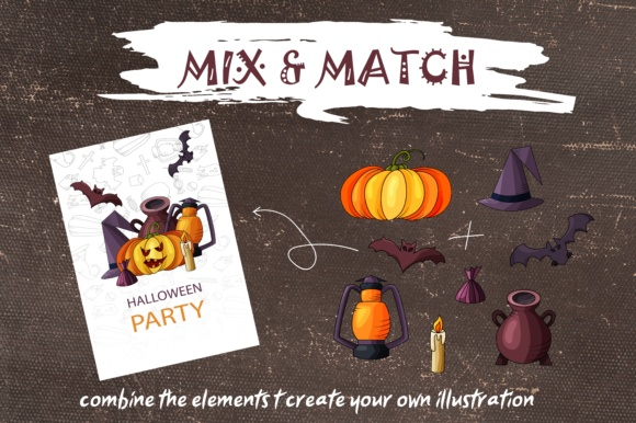 Spooky Halloween Clipart Graphic Illustrations By tregubova.jul - Image 9
