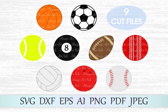 Download Free Sport Bundle Graphic By Magicartlab Creative Fabrica for Cricut Explore, Silhouette and other cutting machines.