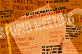 Stupid Meeting Font By Sharkshock
