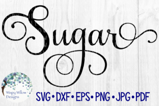 Download Free Sugar Label Graphic By Wispywillowdesigns Creative Fabrica for Cricut Explore, Silhouette and other cutting machines.