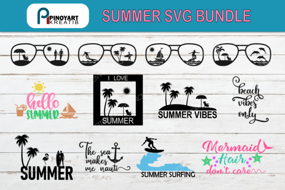 Summer Bundle Graphic Crafts By Pinoyartkreatib