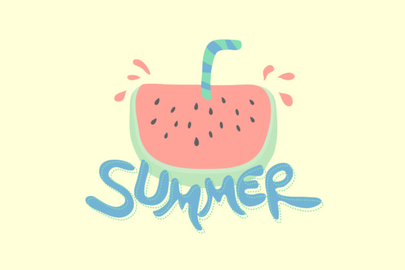 Summer Graphic By KitCreativeStudio