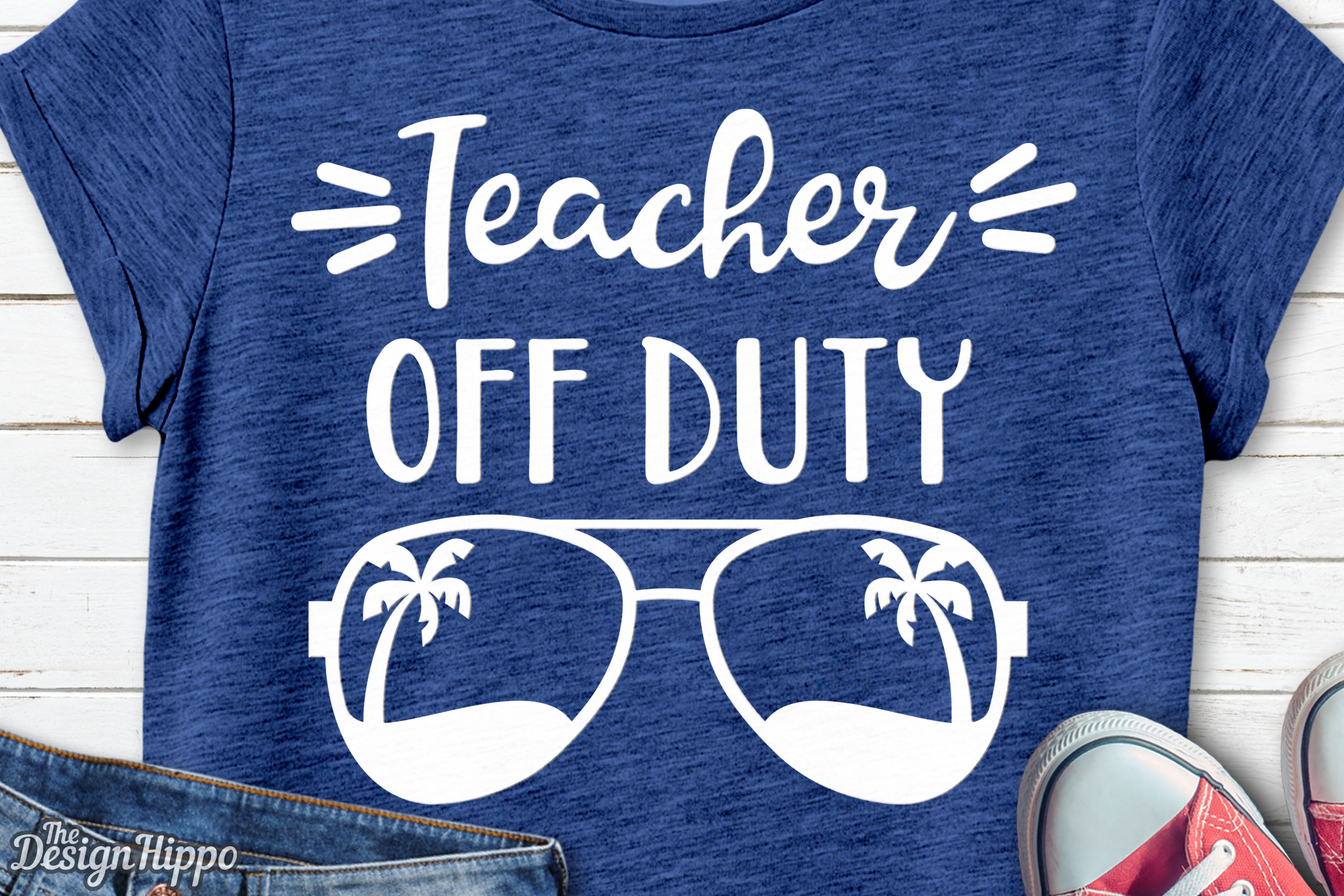 Download Free Teacher Off Duty Svg Graphic By Thedesignhippo Creative Fabrica for Cricut Explore, Silhouette and other cutting machines.
