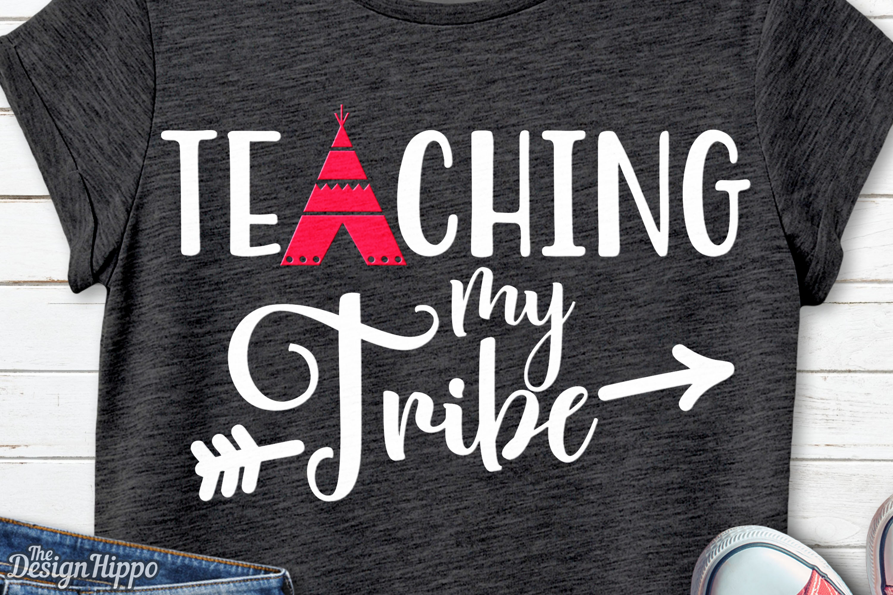 Download Free Teaching My Tribe Svg Graphic By Thedesignhippo Creative Fabrica for Cricut Explore, Silhouette and other cutting machines.
