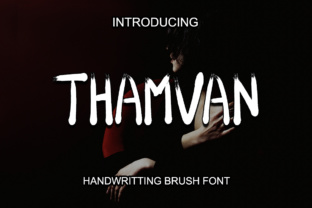 Thamvan Font By Boombage