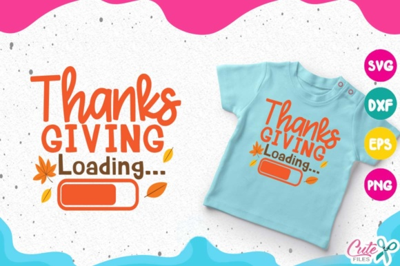 Thanksgiving Loading, Fall Yall Svg, Hello Autumn Graphic Illustrations By Cute files