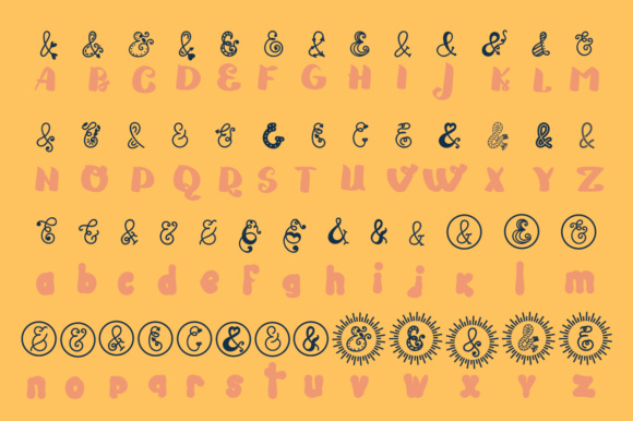 Print on Demand: The Ampersand Story 2 Script & Handwritten Font By Lickable Pixels - Image 3