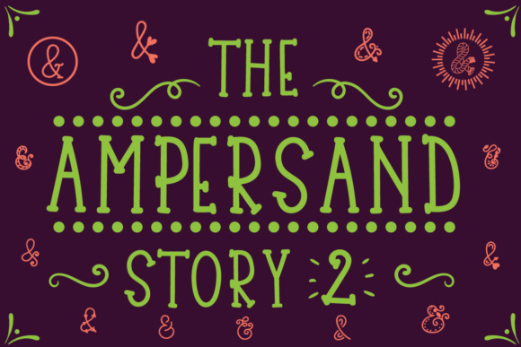 Print on Demand: The Ampersand Story 2 Script & Handwritten Font By Lickable Pixels
