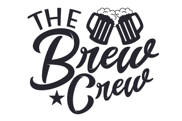The Brew Crew Wedding Craft Cut File By Creative Fabrica Crafts