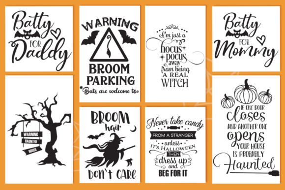 Download Free The Halloween Cut Files Pack With 30 Items Graphic By Nerd Mama for Cricut Explore, Silhouette and other cutting machines.