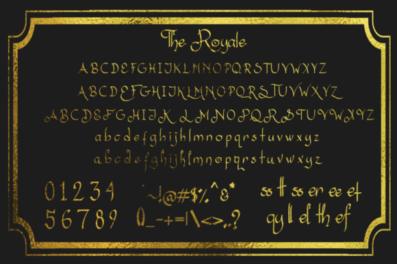 The Royale Font By dmletter31 Image 11