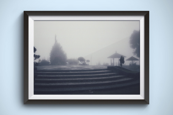 The Garden is Very Misty Graphic Nature By Kerupukart Production - Image 1