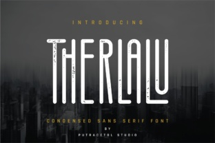 Therlalu Font By putracetol