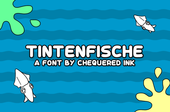 Print on Demand: Tintenfische Script & Handwritten Font By Chequered Ink