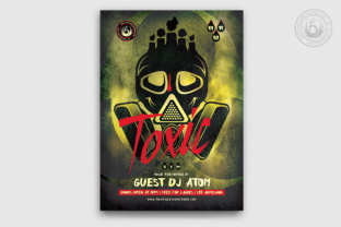 Toxic Night Flyer Template Graphic By ThatsDesignStore