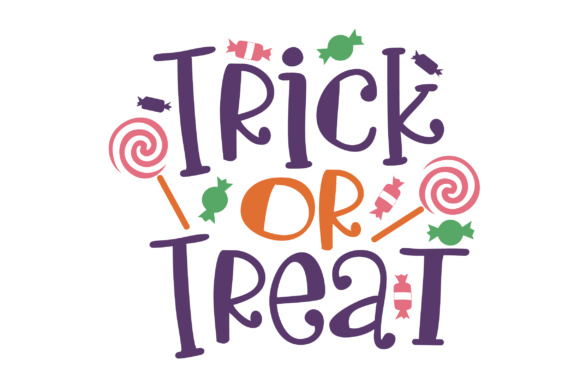 Download Free Trick Or Treat Svg Cut File By Creative Fabrica Crafts for Cricut Explore, Silhouette and other cutting machines.