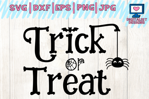 Trick or Treat SVG Graphic By digitalistdesigns Image 1