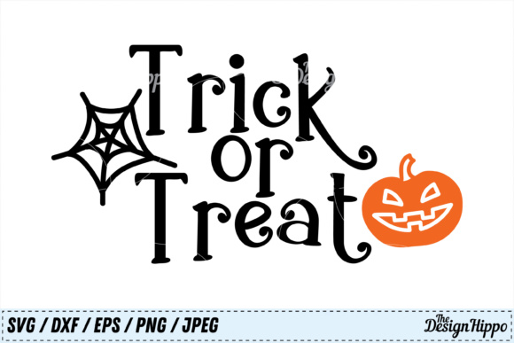 Trick Or Treat Svg Graphic By Thedesignhippo Creative Fabrica