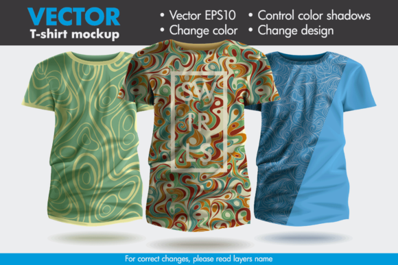 Vector T Shirt Mockup Template Graphic By Pedro Alexandre Teixeira