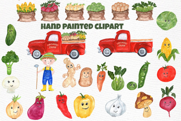 Download Free Watercolor Vegetables Clipart Farm Clipart Kawaii Clipart Healthy for Cricut Explore, Silhouette and other cutting machines.