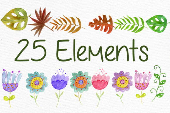 Watercolor Animals Clipart Peacock Graphic Illustrations By vivastarkids - Image 3