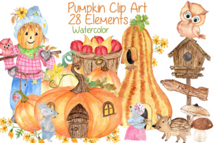 Download Free Watercolor Pumpkin Clipart Squash Clipart Thanksgiving Clipart for Cricut Explore, Silhouette and other cutting machines.