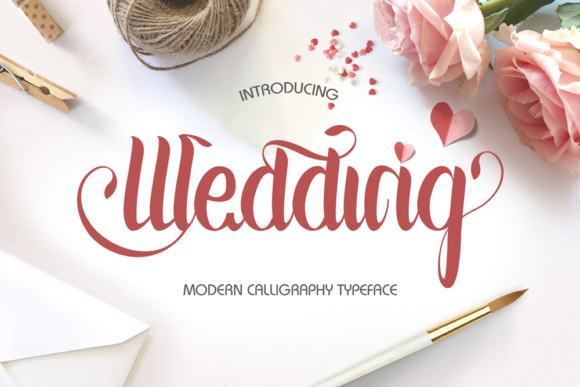 Print on Demand: Wedding Script Script & Handwritten Font By iTypeface