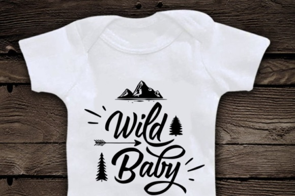 Wild Baby Svg Graphic Crafts By BlackCatsMedia - Image 2