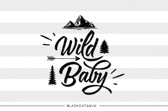 Download Free Wild Baby Graphic By Blackcatsmedia Creative Fabrica for Cricut Explore, Silhouette and other cutting machines.