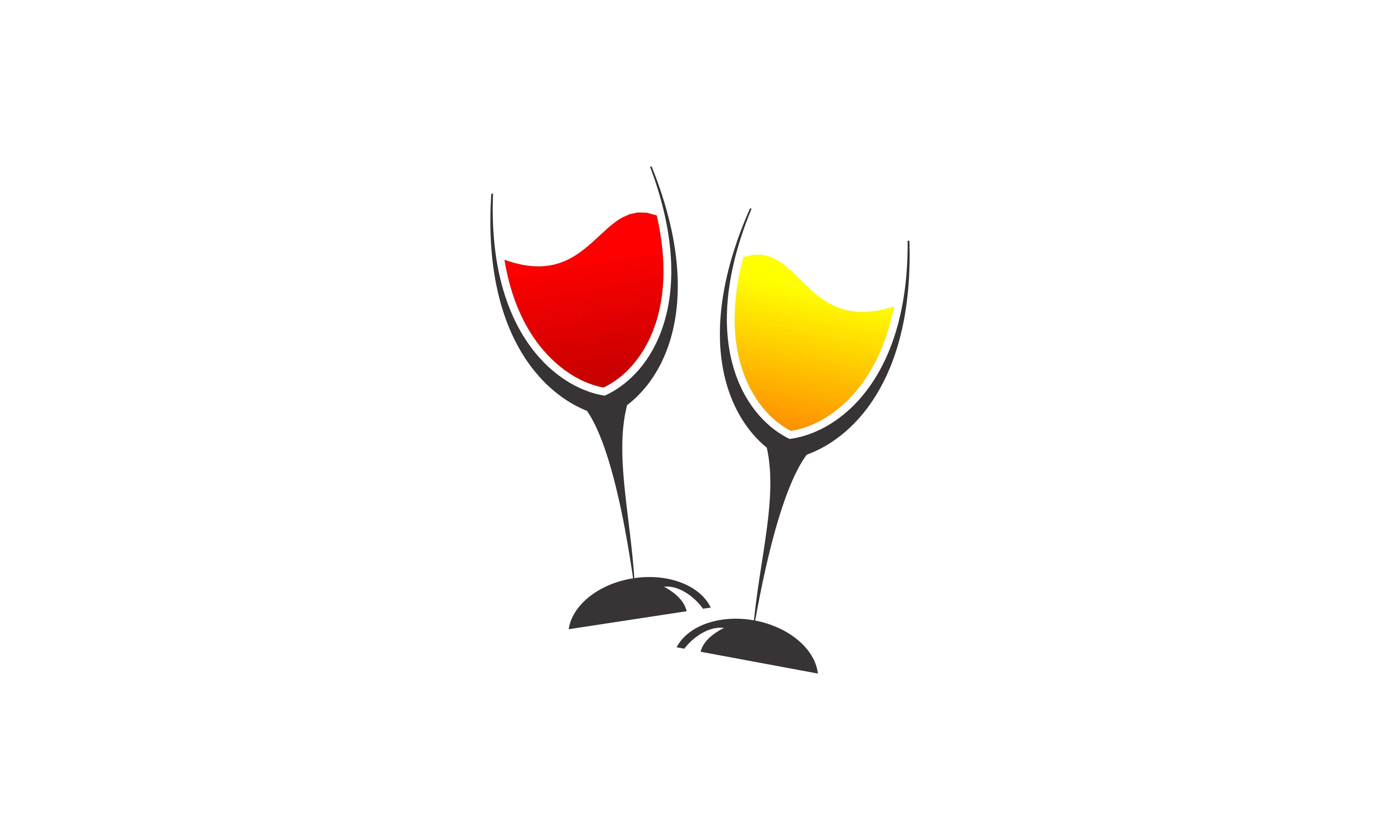 Download Free Wine Logo Design Graphic By 2qnah Creative Fabrica for Cricut Explore, Silhouette and other cutting machines.
