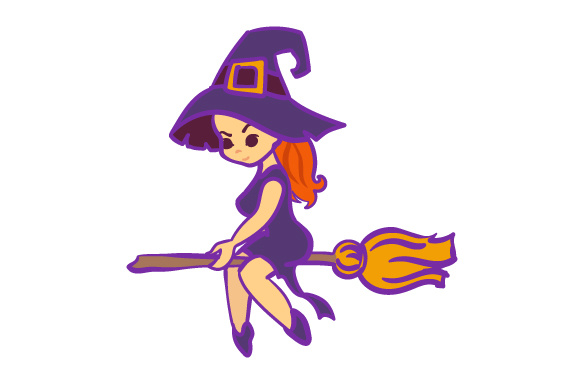 Witch Halloween Craft Cut File By Creative Fabrica Crafts - Image 1