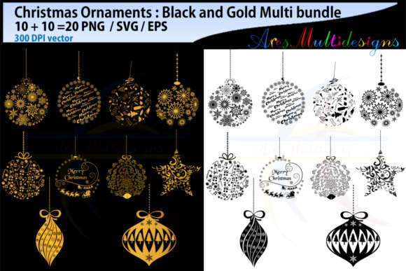 Print on Demand: X Mas Ornament Svg Gráfico Ilustraciones Por Arcs Multidesigns