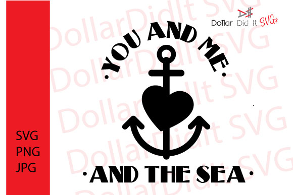 Download Free You And Me By The Sea Svg Graphics Grafico Por Dollar Did It for Cricut Explore, Silhouette and other cutting machines.