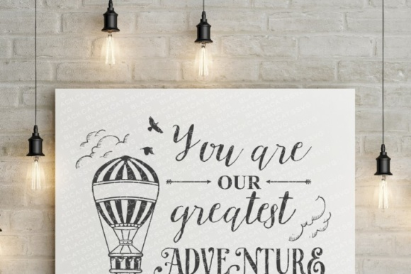 You Are Our Greatest Adventure Graphic Crafts By BlackCatsMedia - Image 2